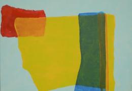 Schwebende Farbfelder